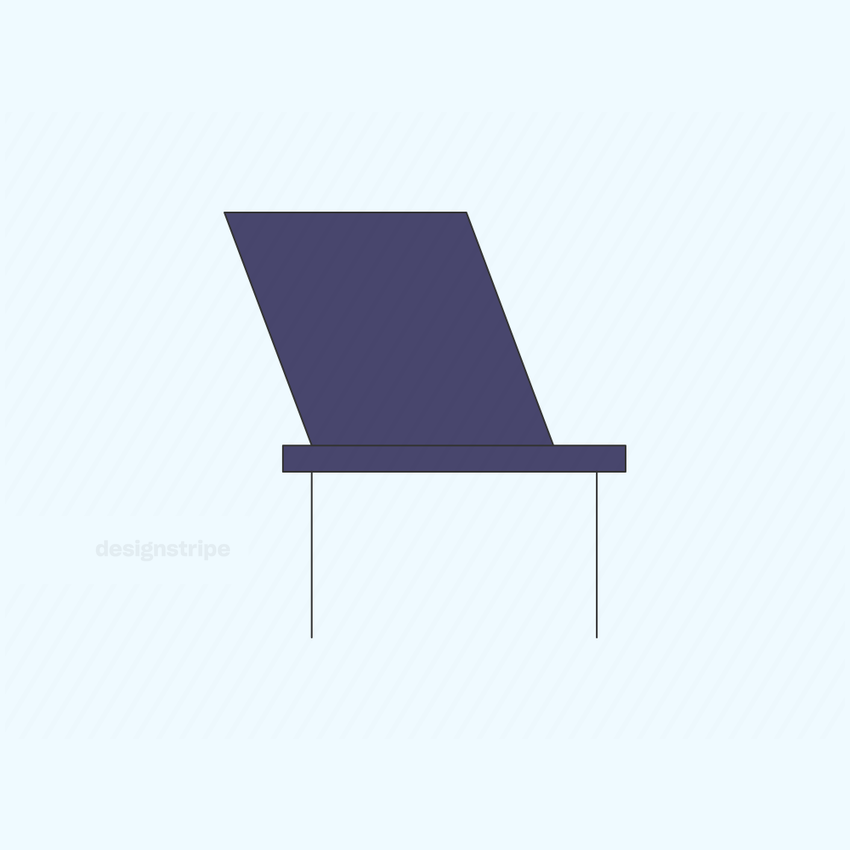 Illustration Of Small Chair