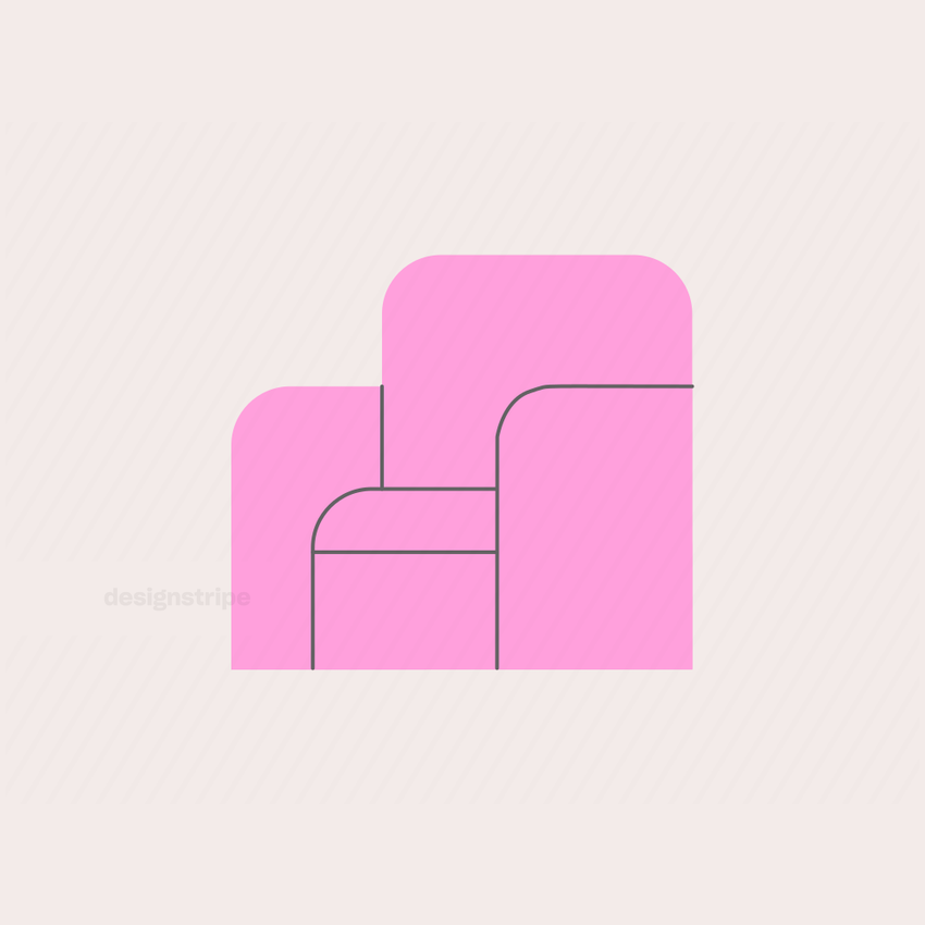 Illustration Of Basic Armchair