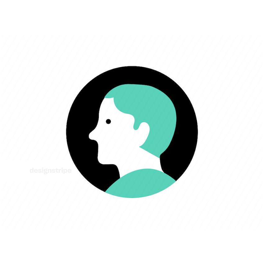 Illustration Of Man Icon