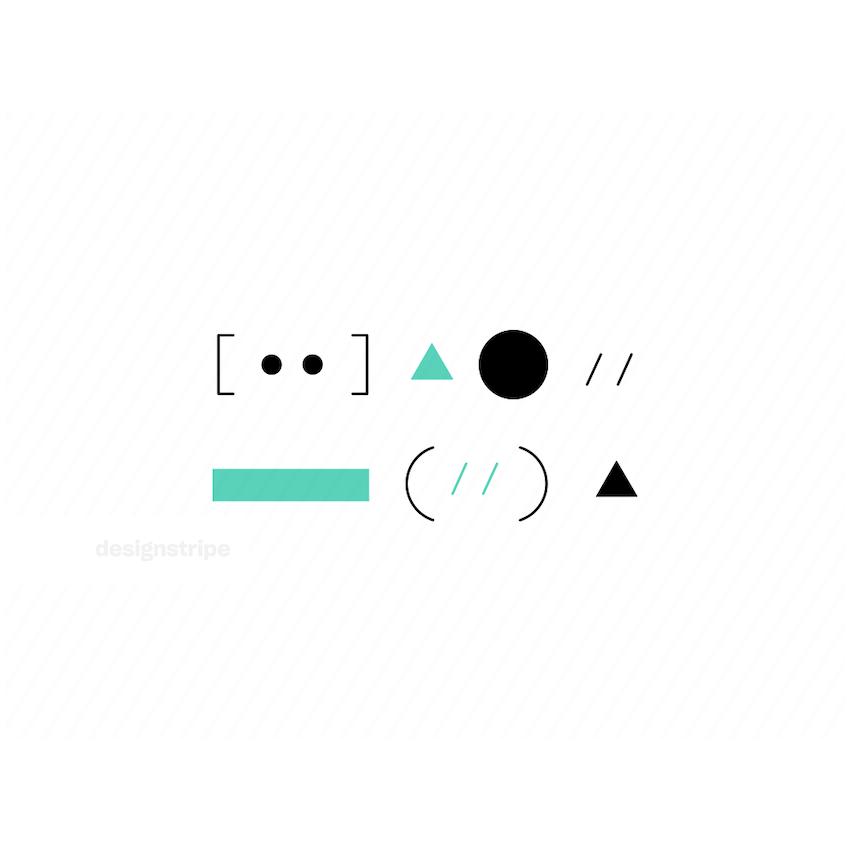 Illustration Of Code Symbols