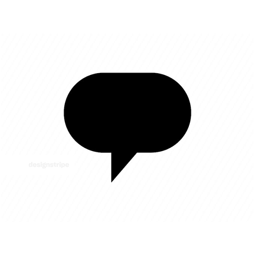 Illustration Of Speech Bubble