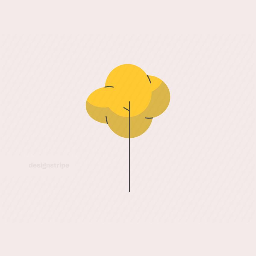 Illustration Of Basic Skinny Tree