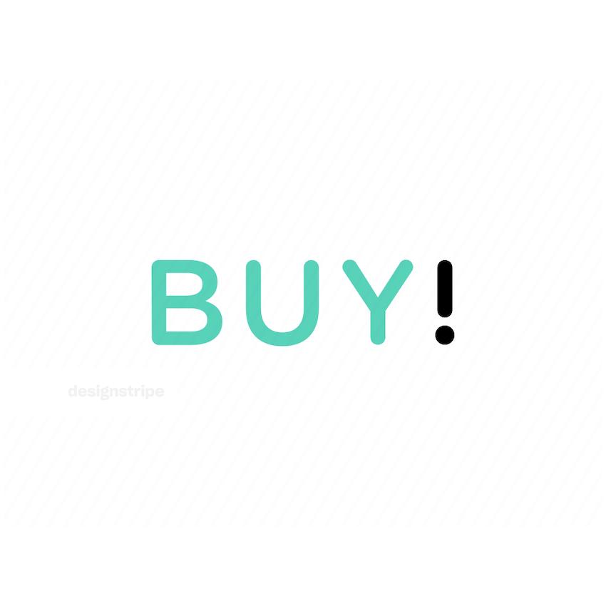 Illustration Of Buy Lettering