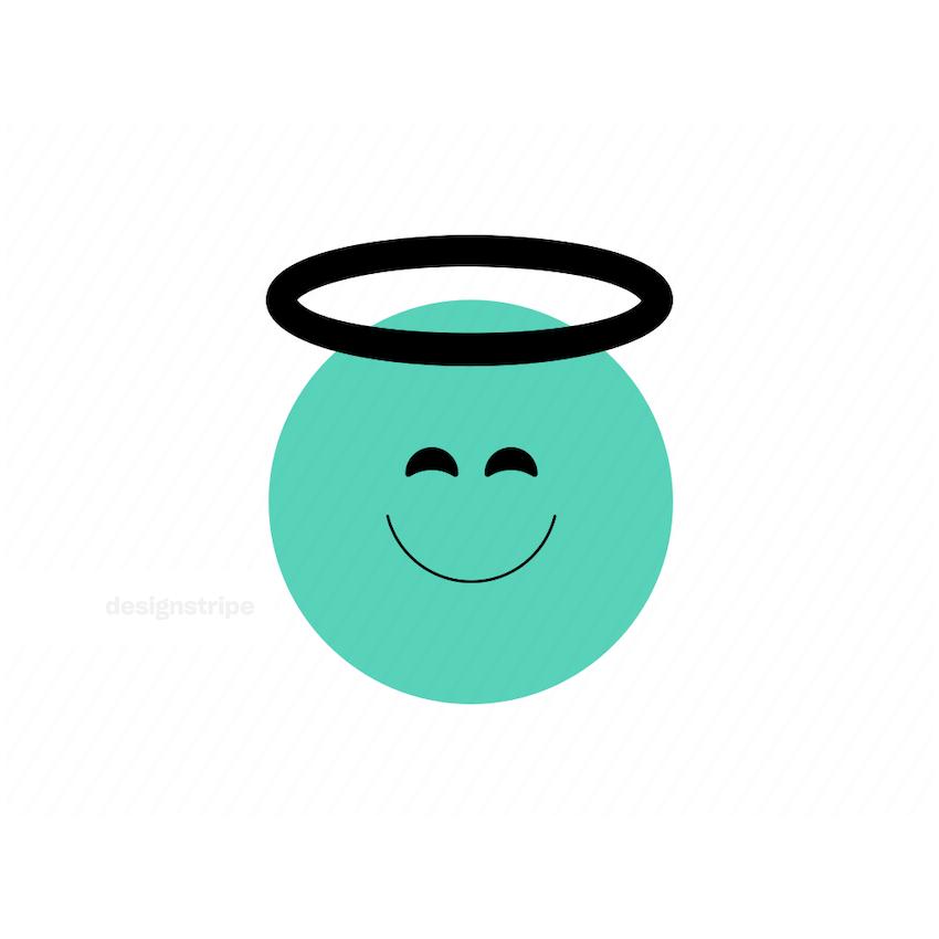 Illustration Of Emoji angel