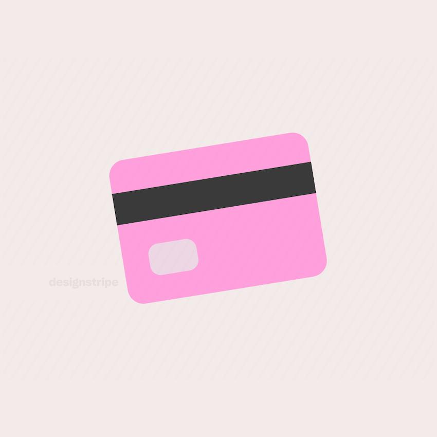 Illustration Of Credit Card Backside 3