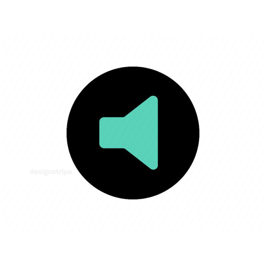 Illustration Of Sound Icon