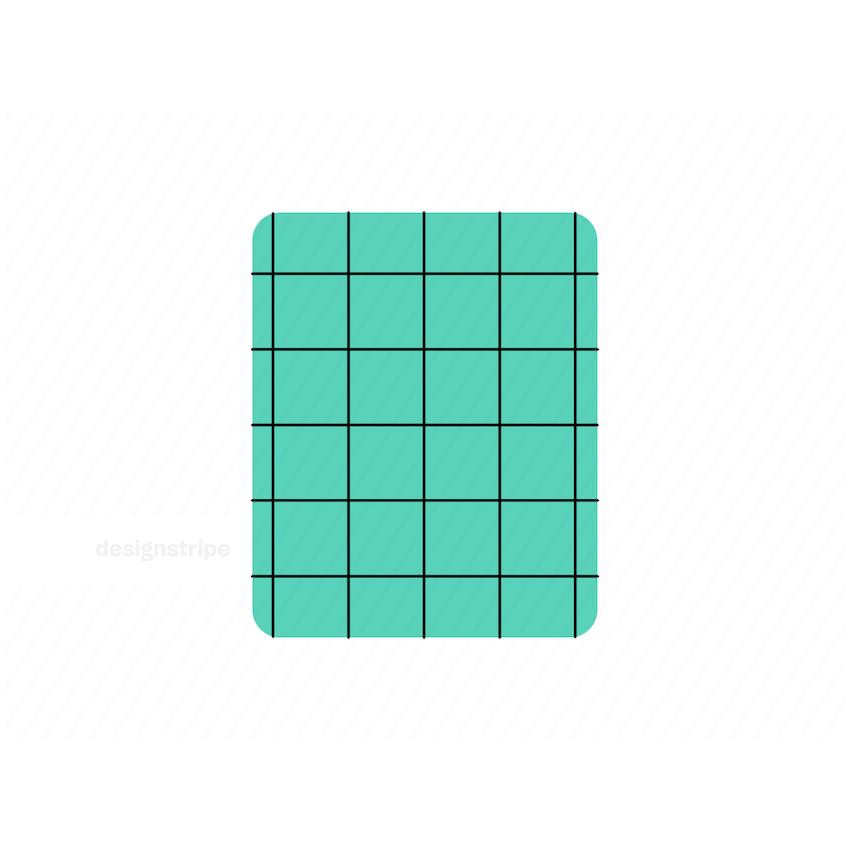 Illustration Of Checkered Square