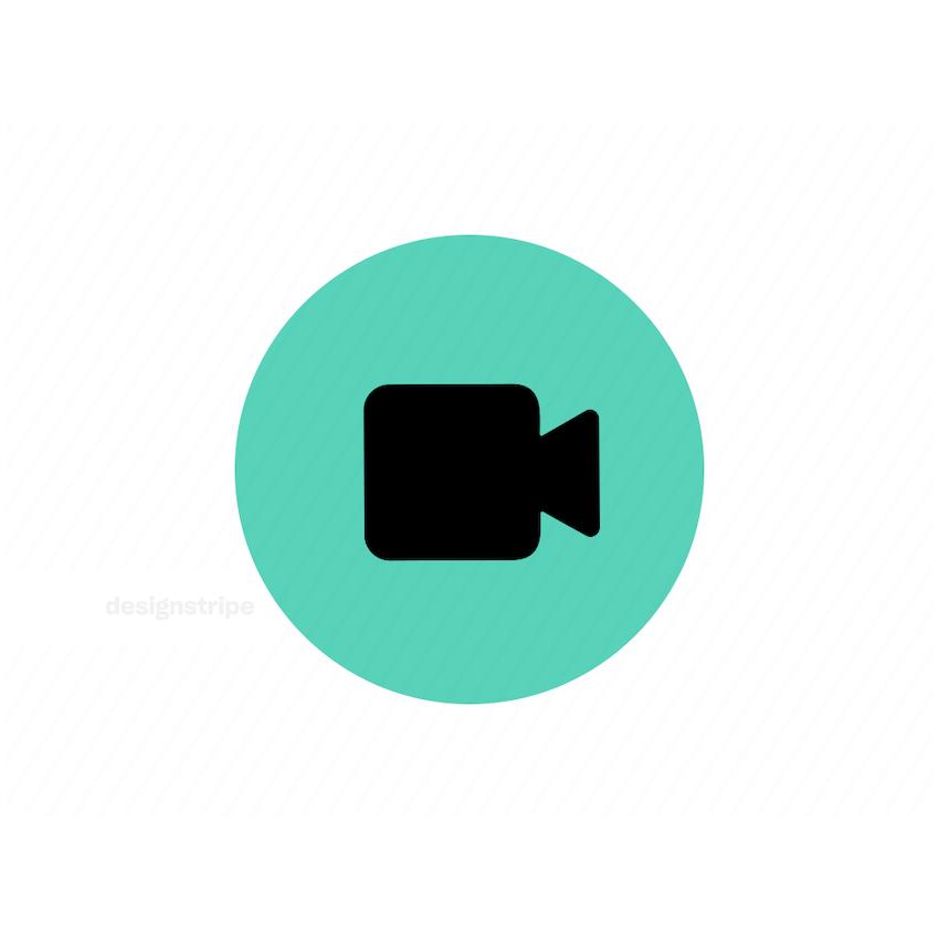 Illustration Of Video Icon