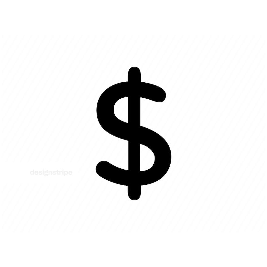 Illustration Of Dollar Sign