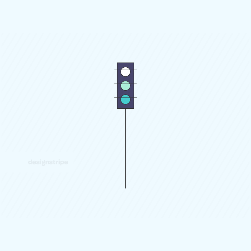 Illustration Of Traffic Lights