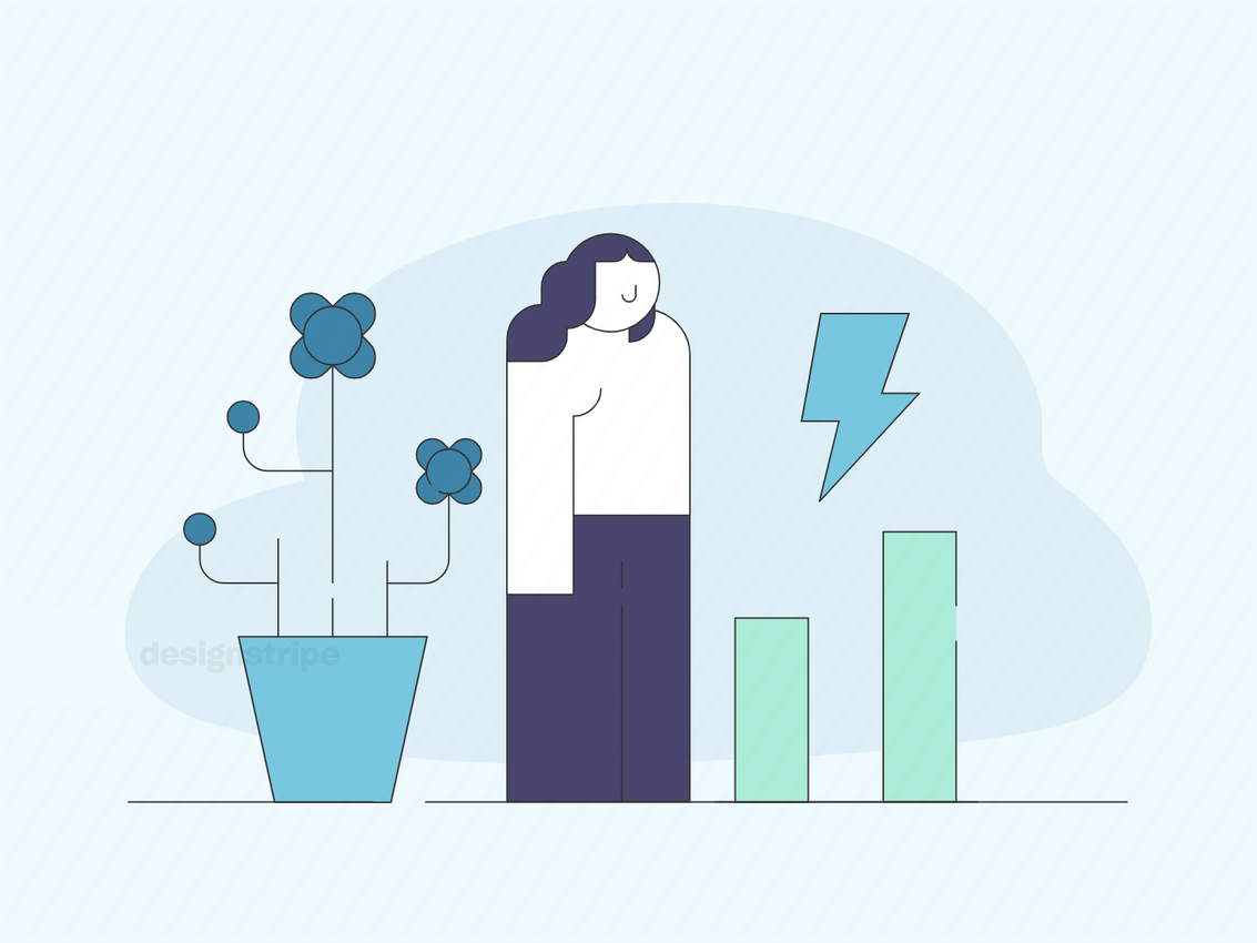 Illustration Of Entrepreneurship And Startup Business Concept