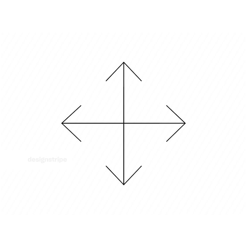Illustration Of Move Tool Icon