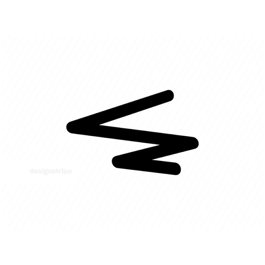 Illustration Of Bold Line