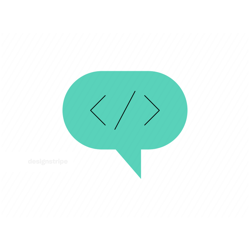 Illustration Of Programming bubble