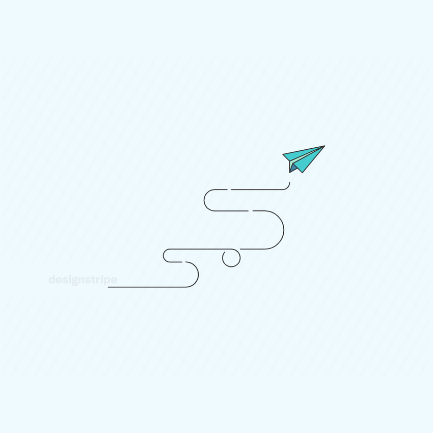 Illustration Of Paper Plane
