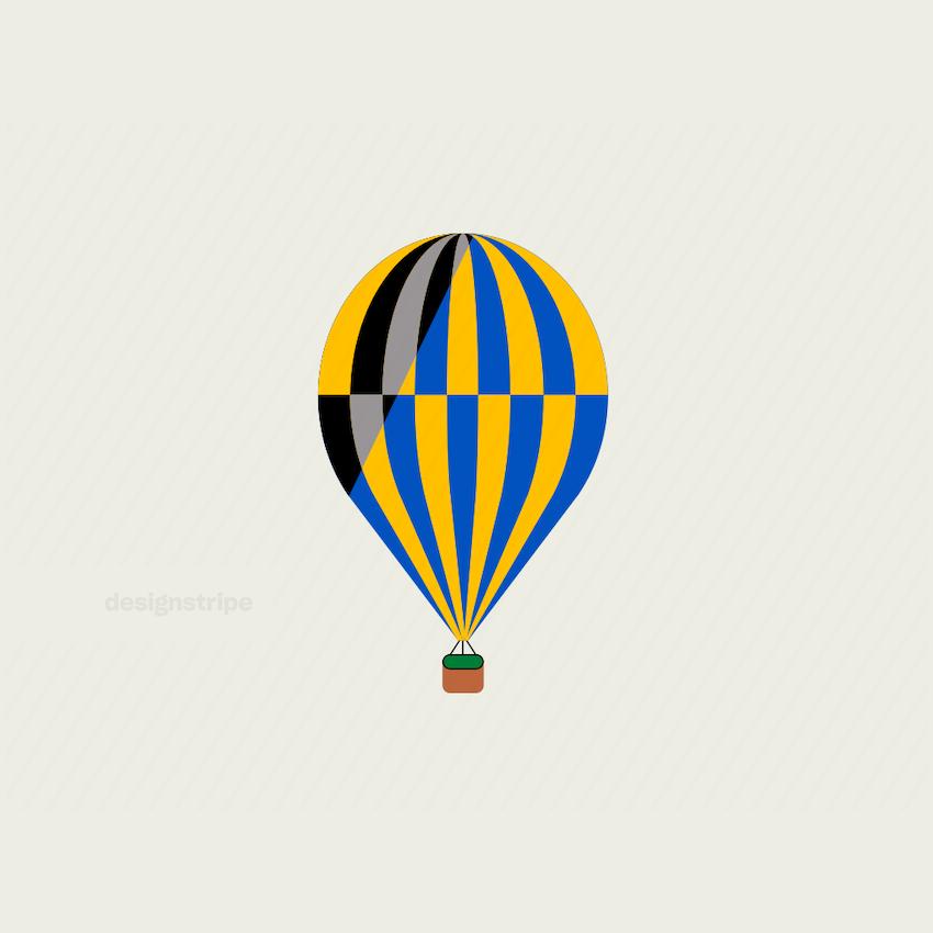 Illustration Of single balloon