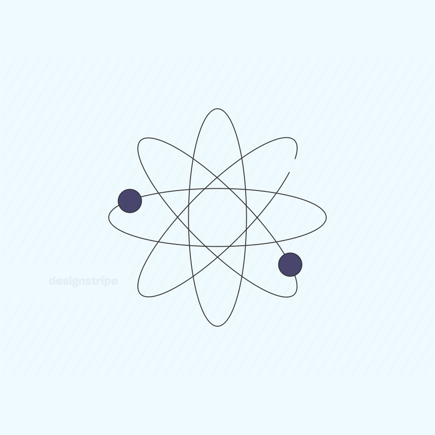 Illustration Of Atomic Symbol