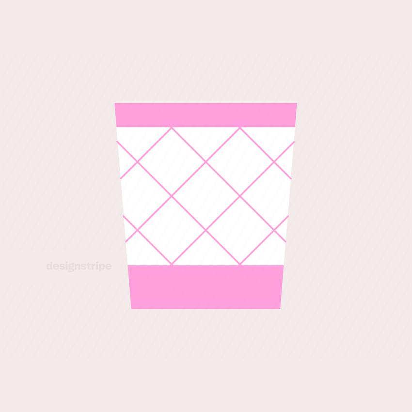 Illustration Of Wastepaper Basket
