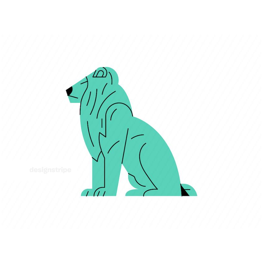 Illustration Of Lion