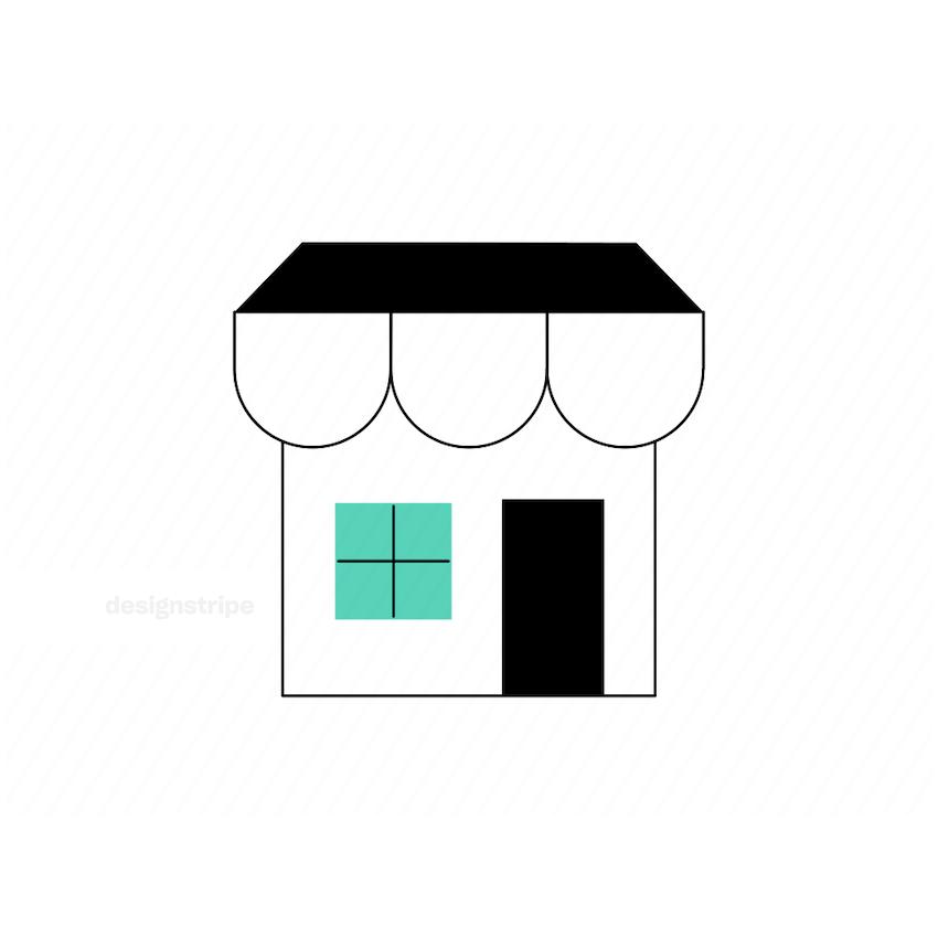 Illustration Of Shop