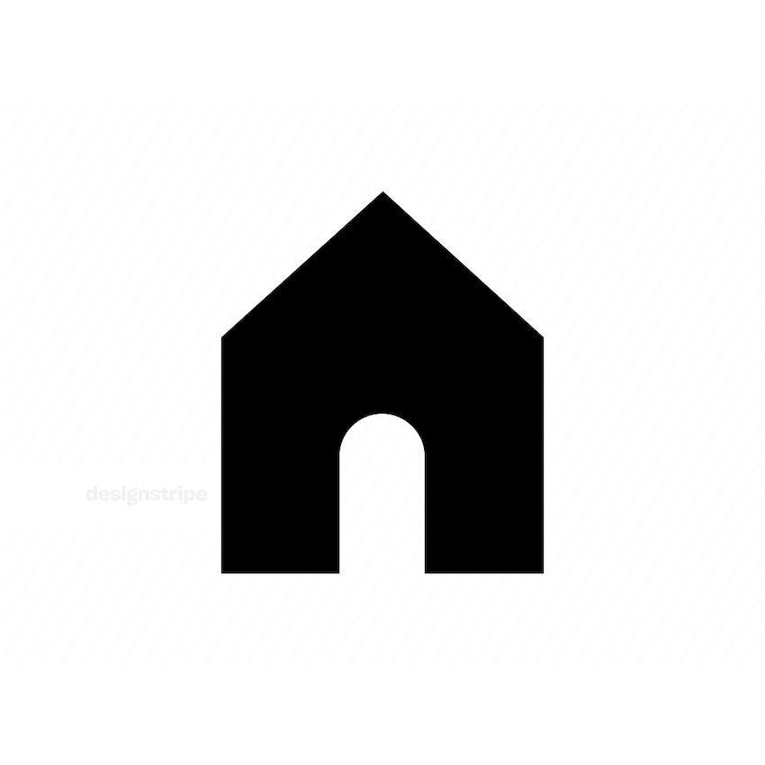 Illustration Of House Icon