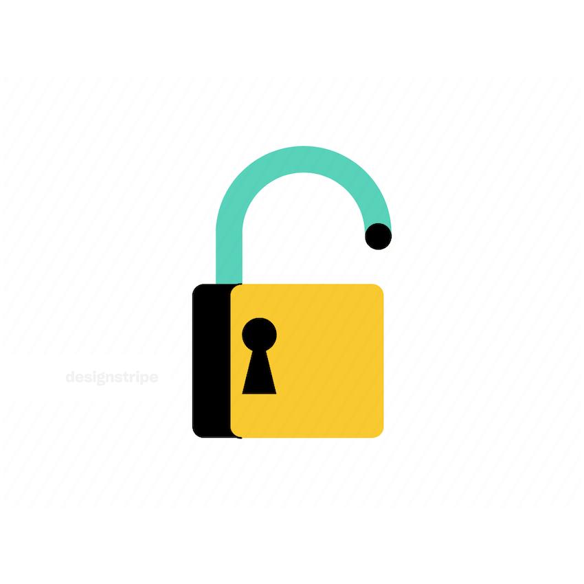 Illustration Of Lock
