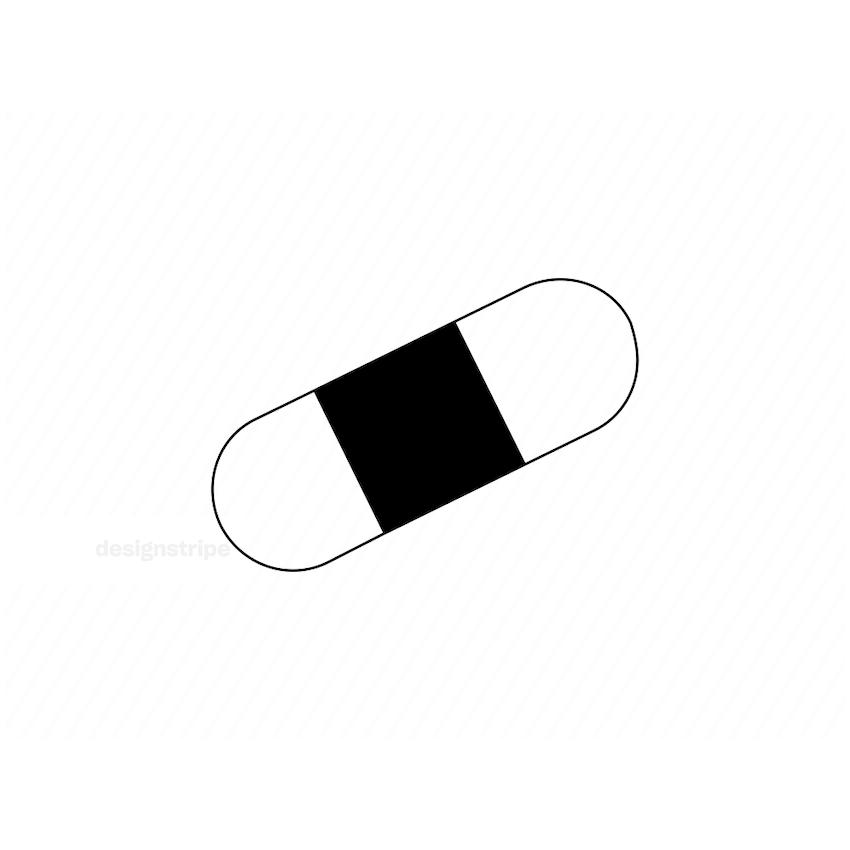 Illustration Of Plaster Icon