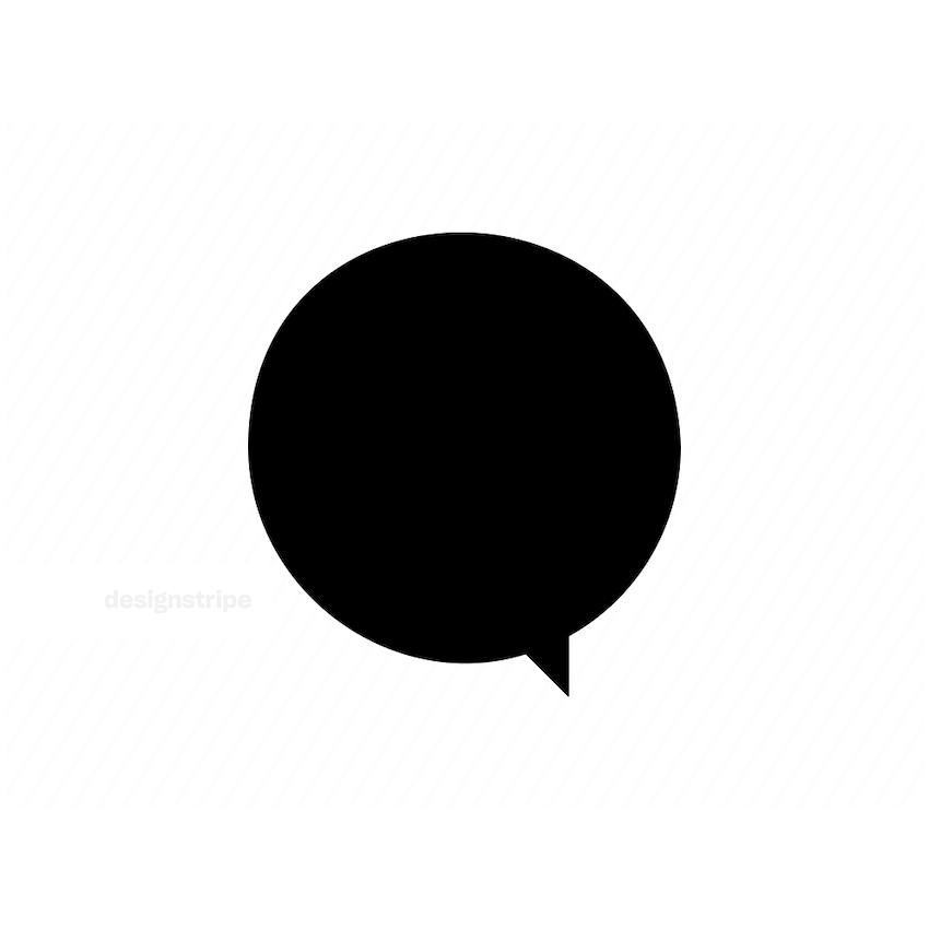 Illustration Of Speeche Bubble