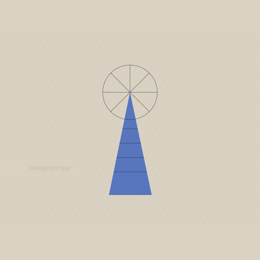Illustration Of Windmill